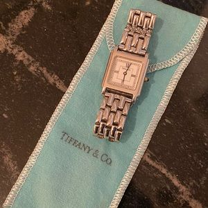 Tiffany & Co. Ladies Tank Stainless Steel Watch